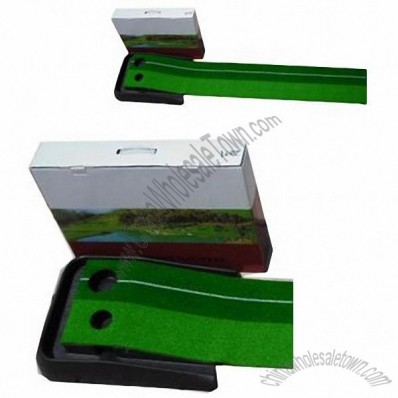 Indoor Golf Ball Practice Putting Green Mat Auto Return