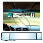 Indoor Rearview Mirror with Two Auxiliary Mirrors