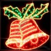 Indoor and Outdoor Decoration Christmas Bell Motif LED Light