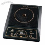 Induction Cooker with Black Crystal Ceramic Plate