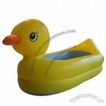 Inflatable Baby Safety Duck Bath Tube