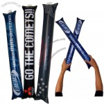 Inflatable Cheering Sticks, Baloom Sticks, Cheer Leading, Thunder Sticks