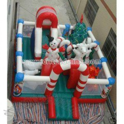 Inflatable Christmas Bouncy