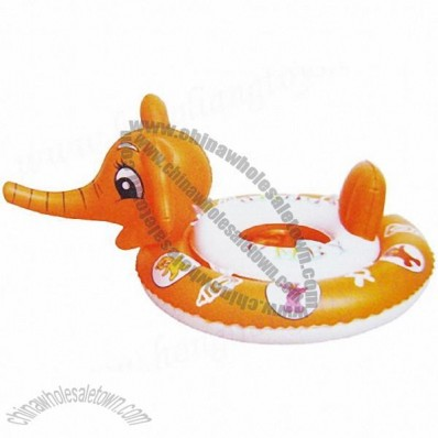 Inflatable Elephant Head PVC Swim Ring