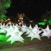 Inflatable Party Decoration Star with RGB Light and 6 to 12ft Diameter, Easy to Install