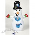 Inflatable Snowman Toss Game