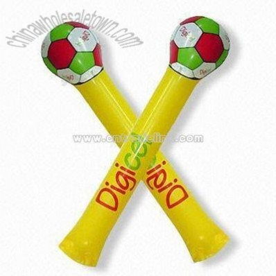 Inflatable Soccer Ball Cheering Stick