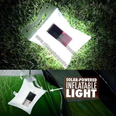 Inflatable Solar Powered Light