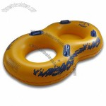Inflatable Swimming Ring Float with 0.25mm PVC Thickness