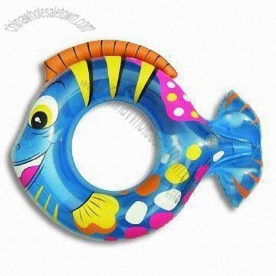 Inflatable Tropical Fish Swim Ring