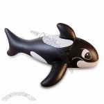 Inflatable Whale Animal Rider with PVC Thickness of 0.25mm