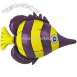 Inflatable purple fish