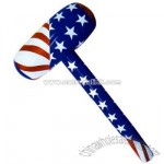 Inflatable stars and stripe patriotic hammer