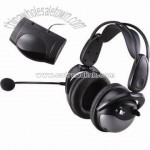 Infrared Wireless Stereo Headphone and Transmitter