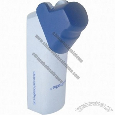 Inhaler Shaped Stress Balls