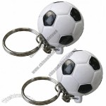 Injected Plastic Football Keychains