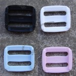 Inside Diameter 20mm Black Economy Contoured Side Release Plastic Buckles Adjustable Buckle