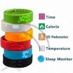 Intelligent Bracelet with Pedometer, Calorie, Time, Sleep Monitor, Temperature