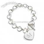 Interlocking Hearts Bracelet