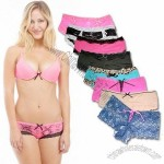 Intimates Lacy Hipster & Cheekies Panties in 3 Sizes