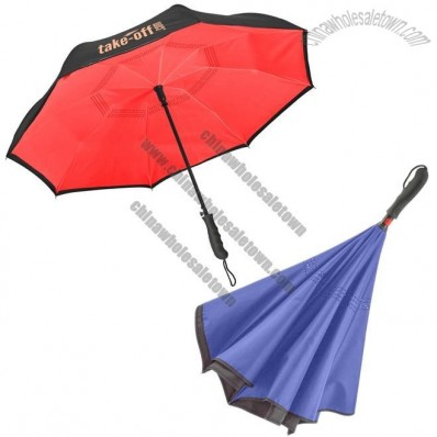 Inverted Reversible Custom Umbrella - 46