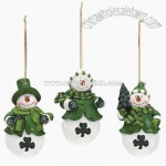 Irish Snowman Ornaments