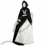 Islamic Designer Wedding Abaya Dress with Quality Embroidery Design
