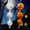 Jack Lantern Pumpkin With Tassels