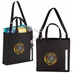 Jackson Non Woven Shoulder Tote Bag