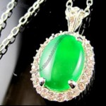 Jade USB Flash Drive Necklace