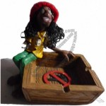 Jamaican Polyresin Ashtray