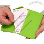 Japanese Lime Green Silicone Business or Credit Card Case