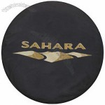 Jeep Wrangler JK Sahara Spare Tire Cover with Logo