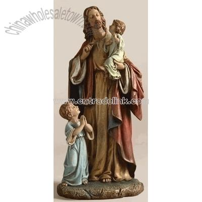 pictures of jesus with children. Jesus With Children (8.5 inch)