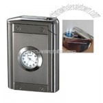 Jet Flame Lighter With Horologe