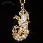 Jewel Lobster Necklace USB Flash Drive