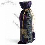 Jeweled Royal Wine Bag