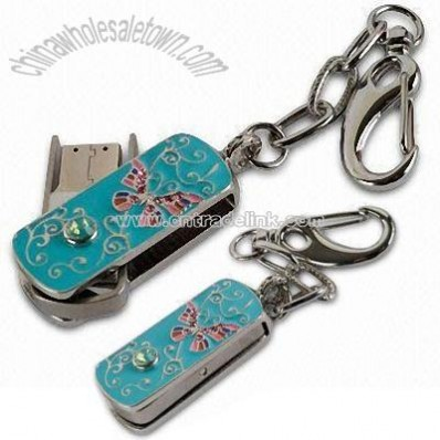 Jeweler Keychain USB Flash Memory