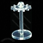 Jewelry Stand Display, Small Enough to Move Around Easily So Information Display Where You Need It
