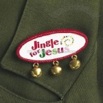 """Jingle For Jesus"" Bell Pins"