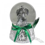 Joy to the World Nativity Musical Snow Globe