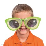 Jumbo Cartoon Eyes Pinhole Glasses