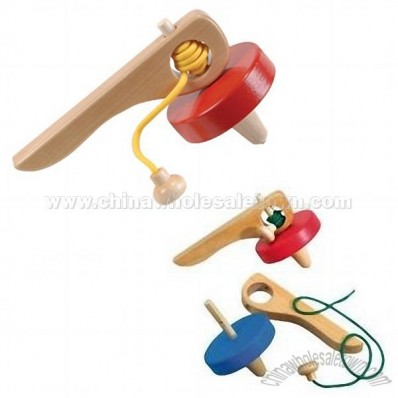 Jumbo Old-Fashioned Galt Hand Spinning Tops
