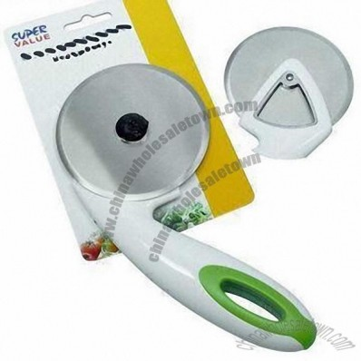 Jumbo Pizza Cutter with ABS Handle Material