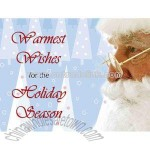 Jumbo holiday postcard