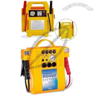 Jump Start with 13Ah Battery Capacity and 2 x 12V DC Output Socket