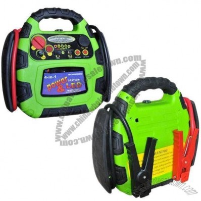 Jump Starter with 700A Peak Power and 12V, 8Ah Rechargeable Lead-acid Battery