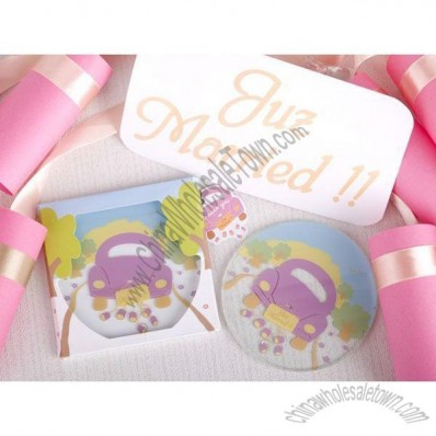 Juz Married! Wedding Car Coaster