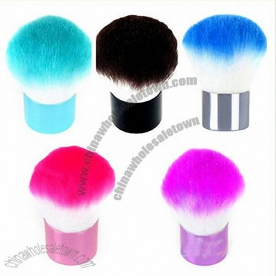 Kabuki Blusher Face Eyes Powder Cosmetic Makeup Brush Short Handle