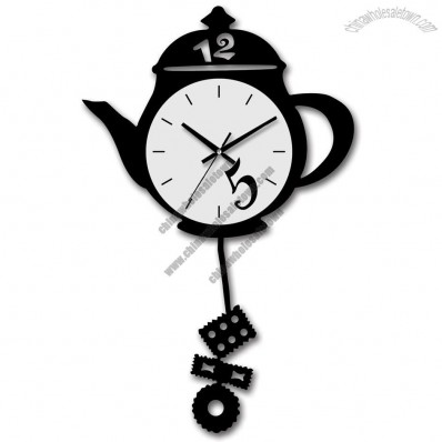 Kettle Design Wall Clock